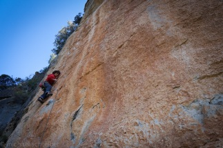 Siurana. A tricky 7c+ with brilliant moves!